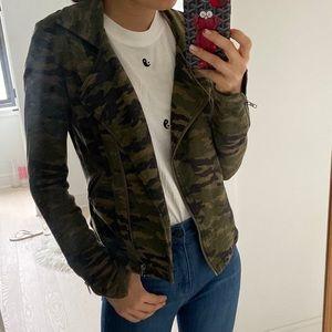 Camo cotton jacket